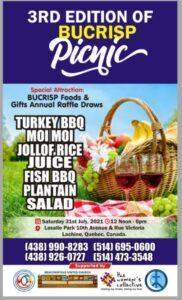 poster for BUCRISP picnic