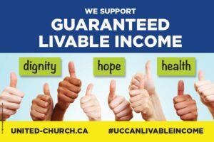 Guaranteed Livable Income - dignity - hope - health - united-church.ca